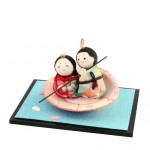 Hina Doll / Rowing a boat