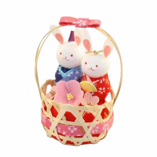 Hina basket Rabbit