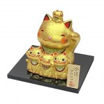 5 Lucky Cats  Gold