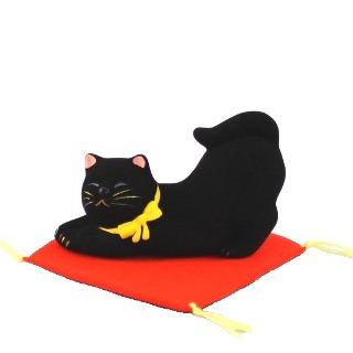 猫の昼休み クロ