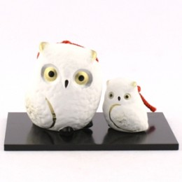 Owl Bell  Parent and child(White) sample2