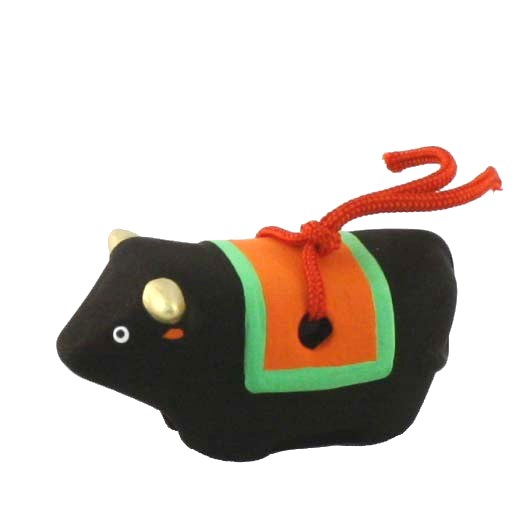 """Oriental Zodiac Bell """"Cow"""""""