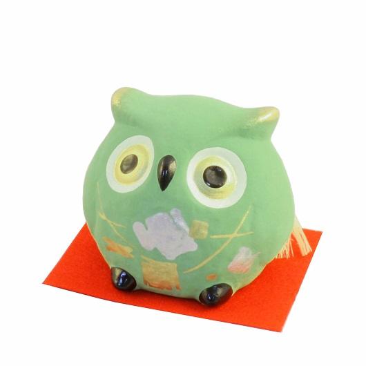 Owl Bell Green