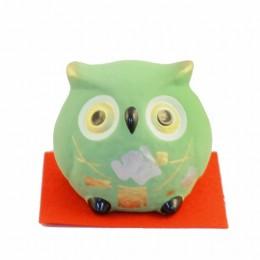 Owl Bell Green sample2