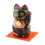 Lucky Cat (L) Black