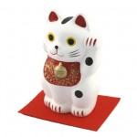 Lucky Cat (L) White