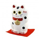 Lucky Cat (M) White