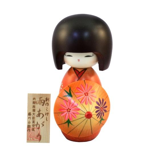Kokeshi Ameagari Red
