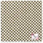Checkered  Handcarchief brawn