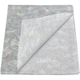Handcarchief dragon gray sample2