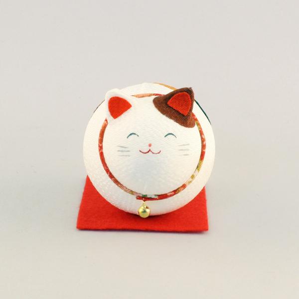 起き上がりゴロゴロ猫(三毛)