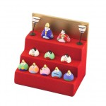 Mini Hina doll 10 people set