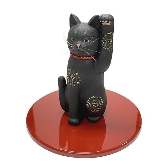 Lucky Cat Kyomiyabi Black sample1