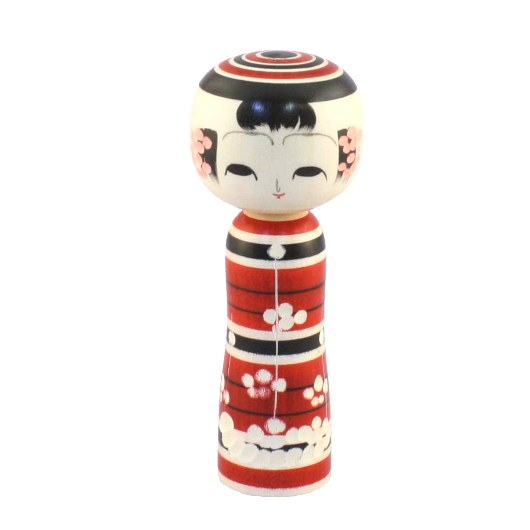 Traditional Russian Painted Porcelain Animal Red Black