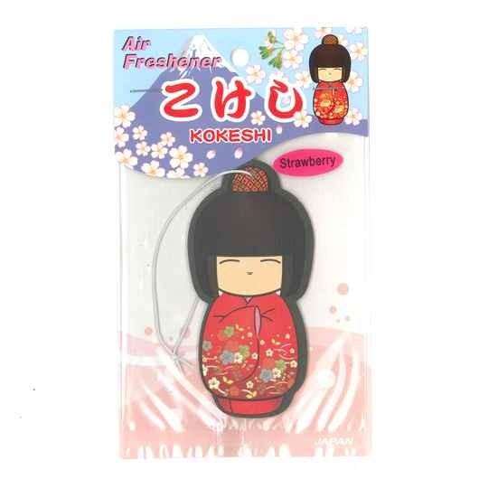 Air Freshener Kokeshi Strawberry sample1