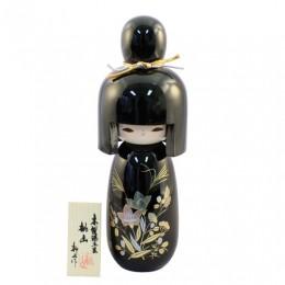 Urushi Kokeshi Momoyama Black sample2