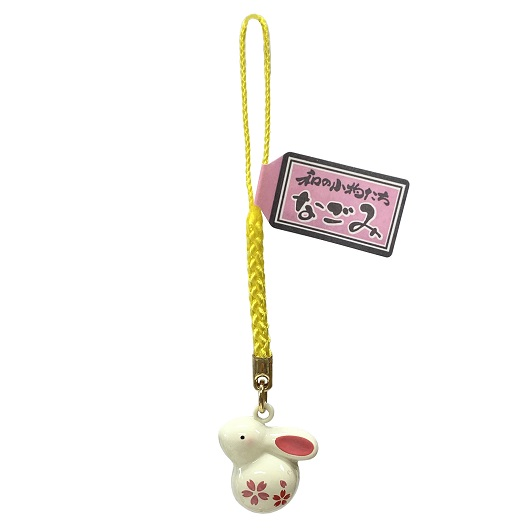 Charm Rabbit Bell (Cherry Blossom) sample1