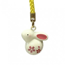 Charm Rabbit Bell (Cherry Blossom) sample2