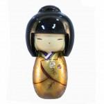 Magnet Kokeshi Gold