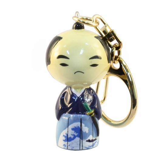 Kokeshi Keyring Samurai sample1