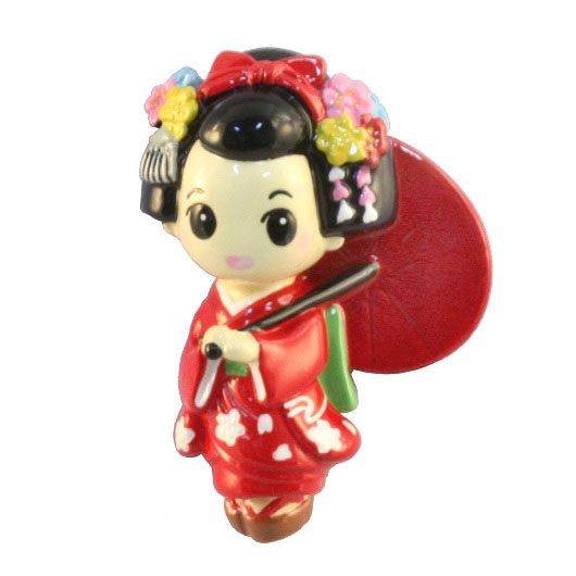 Magnet Maiko Red