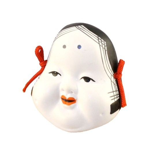 Mask Okame no.5 (for ornamental) sample1
