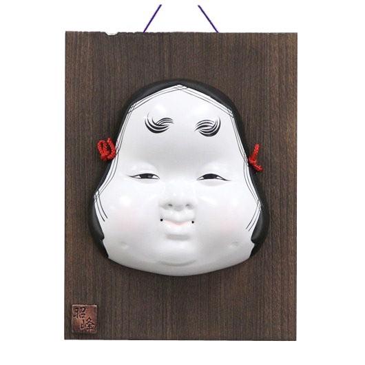 Mask Okame with plate sample1