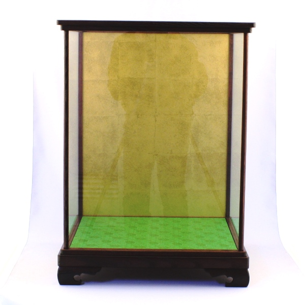 Wooden Frame Glass Case KURI 50