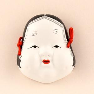 Mask Otafuku(S)no.6 (for ornamental)