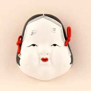 Mask Otafuku(S)no.6 (for ornamental) sample1