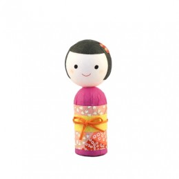 Japanese papered kokeshi S sample2