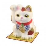 和紙貼り招き猫(大)