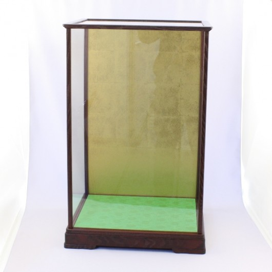 Wooden Frace Glass Case