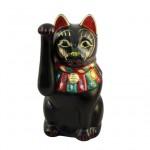大正招き猫(小) 黒