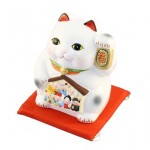 Lucky Cat with Seven Fortune Gods Money Box