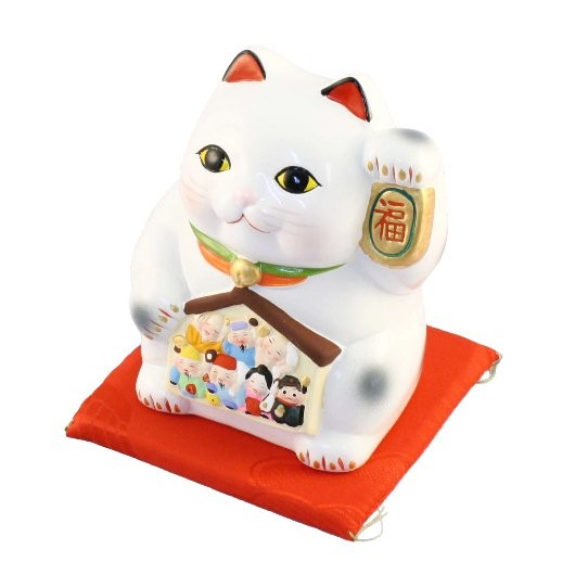 Lucky Cat with Seven Fortune Gods Money Box sample1