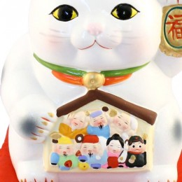 Lucky Cat with Seven Fortune Gods Money Box sample2