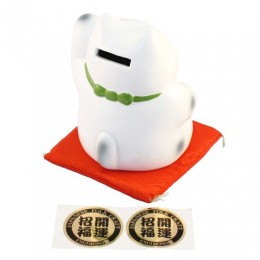 Lucky Cat with Seven Fortune Gods Money Box sample3