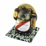 Lucky Tanuki Money Box