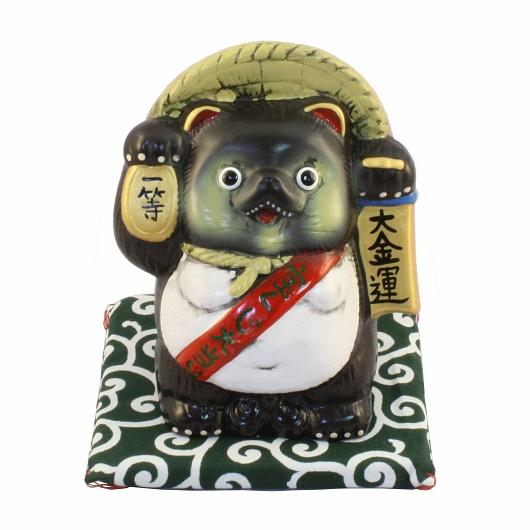 Lucky Tanuki Money Box