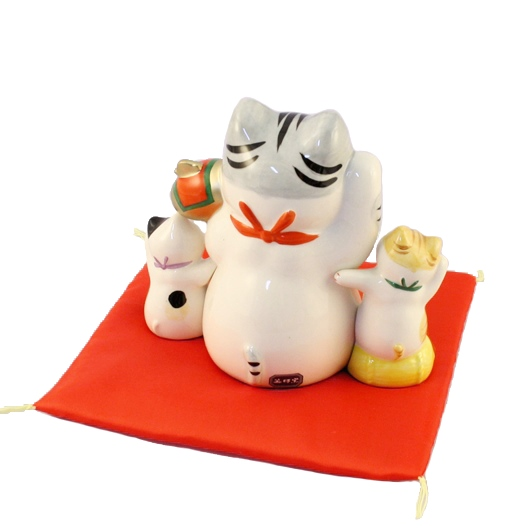 Lucky cat for success