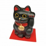 Lucky Cat L Black