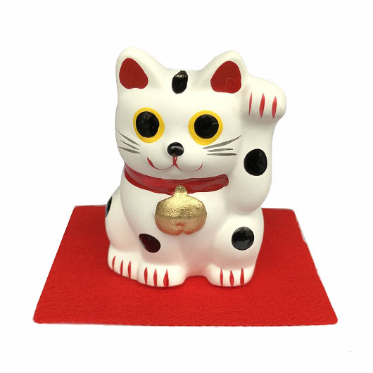 Lucky Cat S White