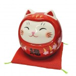 Lucky Cat Daruma