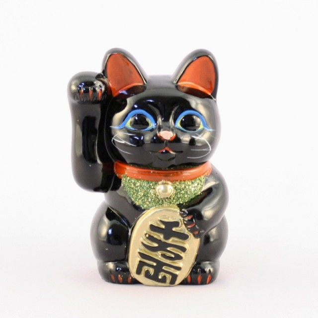 Lucky Cat Black Right Hand No.4