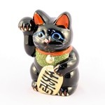 Lucky Cat Black Right Hand No.5