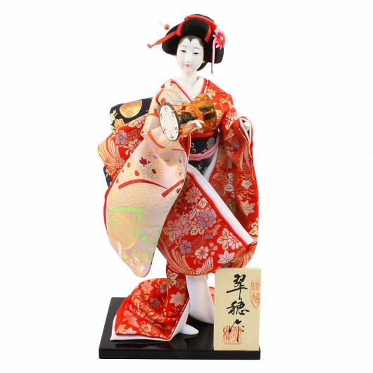 Japanese Doll 8 Kinran-Katanugi Drum