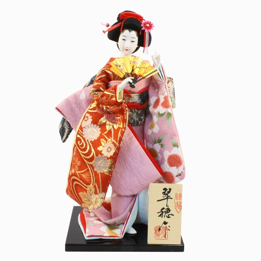 Japanese Doll 8 Kinran-Katanugi Fan