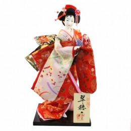 Japanese Doll 8 Kinran-Katanugi Crane sample2