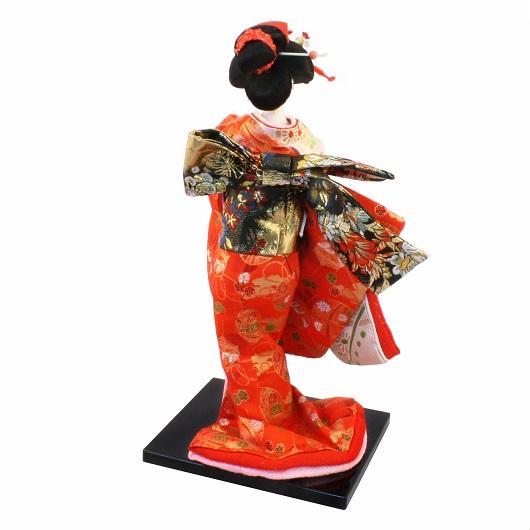 Japanese Doll 8 Kinran-Katanugi Crane
